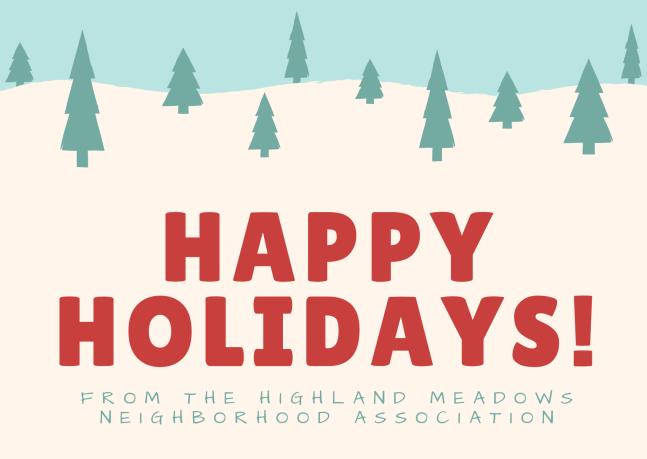 Happy Holidays from HMNA!